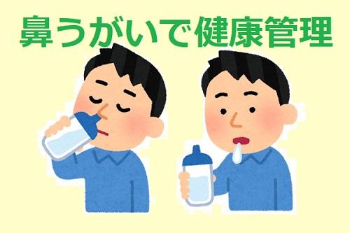 鼻うがいで年中通して健康管理はシャワーが簡単!おススメ洗浄商品3選